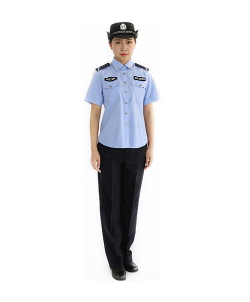 女夏季执勤服